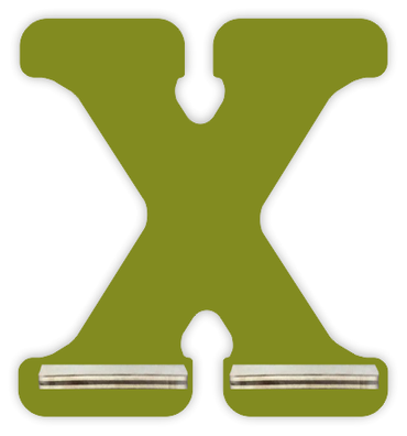 Regal für Musikbox - Mini Alphabet X – Bild 4