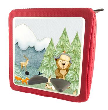 Folie für Musikbox - Bär mit Waldtieren – Bild 9