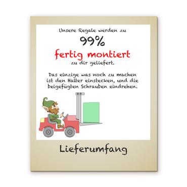 Regal für Musikbox - Regenbogeneinhorn Watercolor – Bild 4