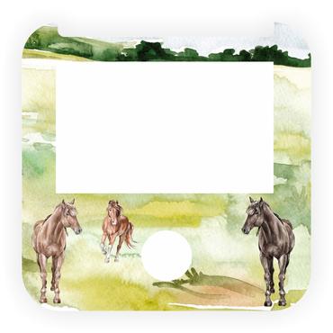 Folie für Tigerbox - Ranchpferde