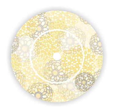 Ladestationaufkleber passend für Toniebox - Edle Blume