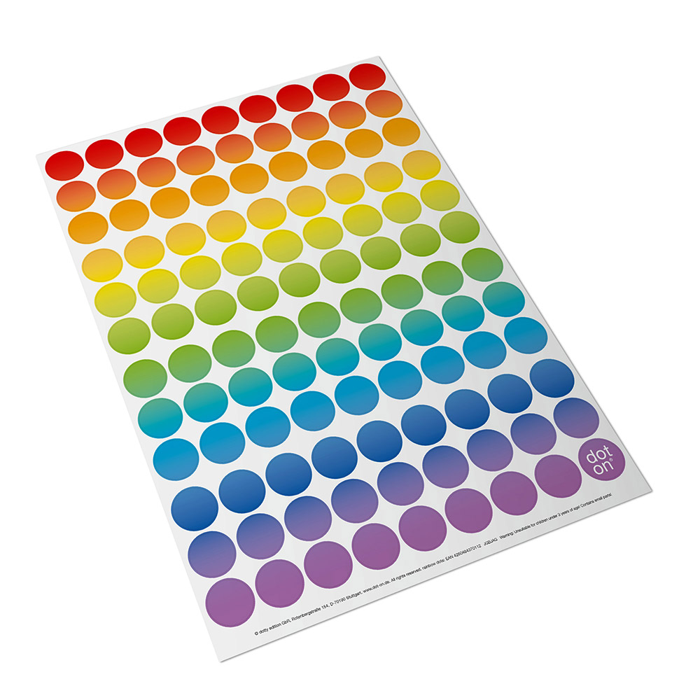 rainbow dots  – Image 1