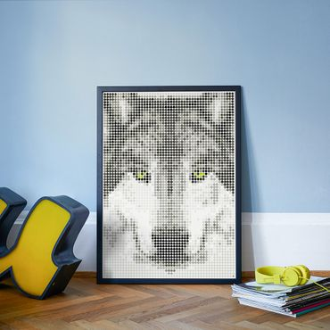 dot on art wild | wolf – Image 3