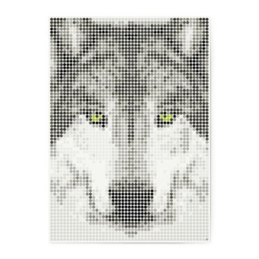 dot on art wild | wolf – Image 1