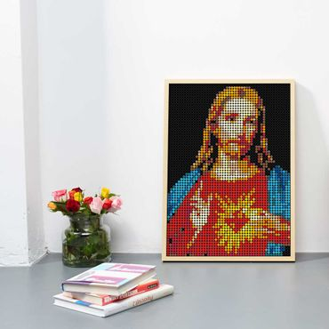dot on art holy | jesus