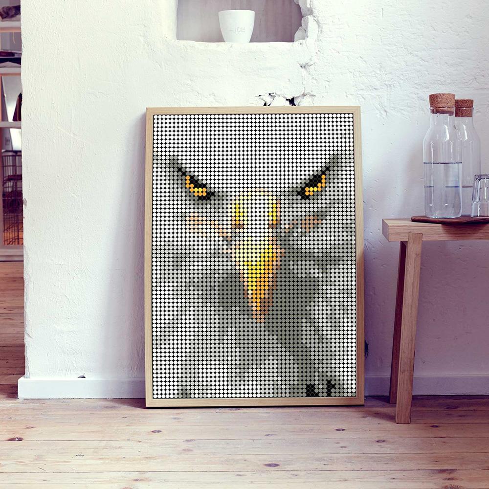 dot on art wild   eagle – Bild 1