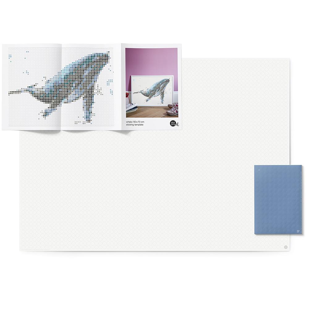 dot on art sea   whale – Bild 2