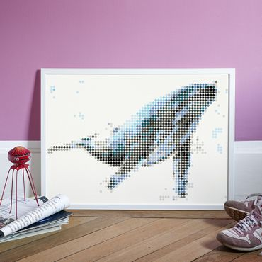 dot on art sea | whale – Image 3