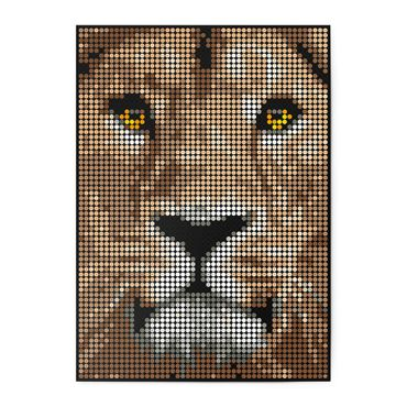 dot on art wild | lion