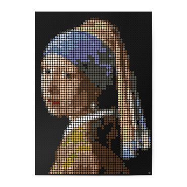 dot on art she | vermeer