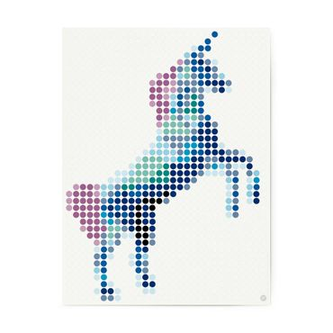 dot on art trend | unicorn