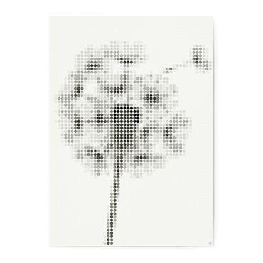 dot on art black&white | dandelion – Bild 1