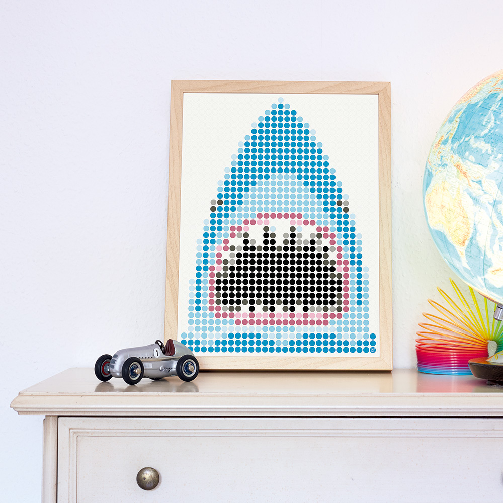dot on art pirate | shark – Image 3