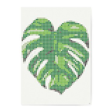 dot on art tropic | monstera