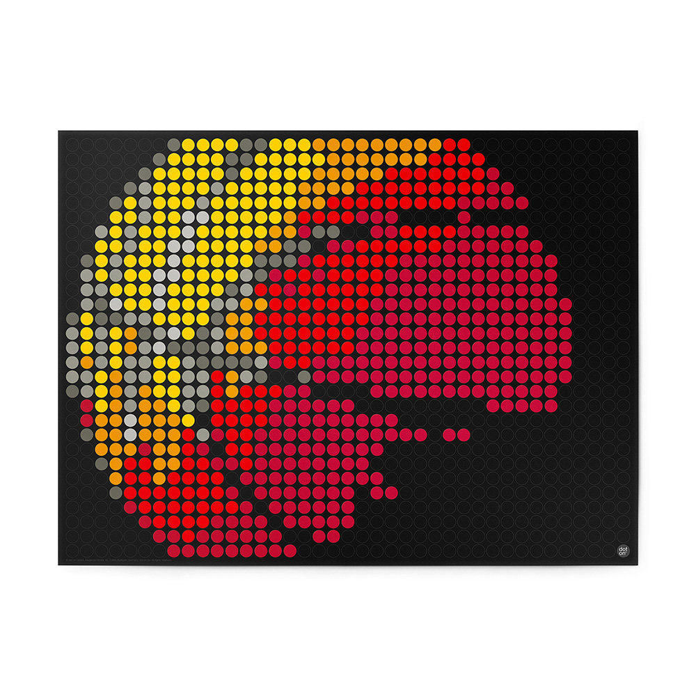 dot on art balls | basketball – Bild 1