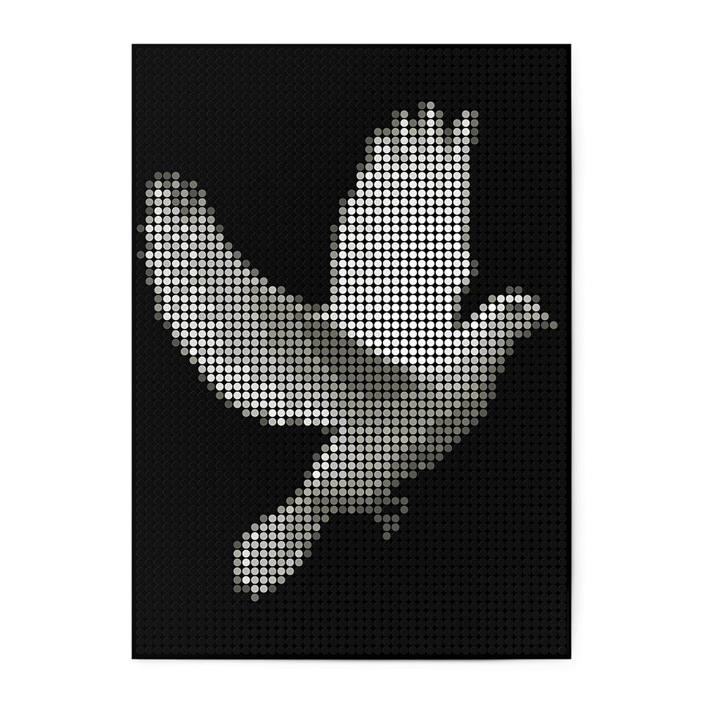 dot on art black&white | peace – Image 1