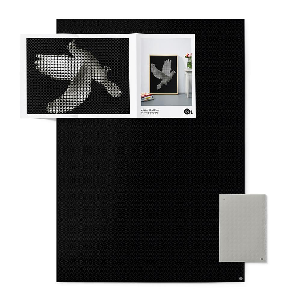 dot on art black&white | peace – Image 2