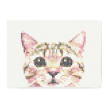 dot on art animals | cat