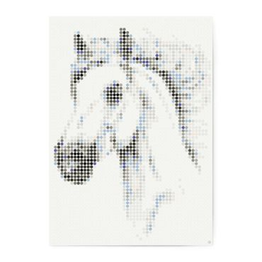 dot on art animals | horse