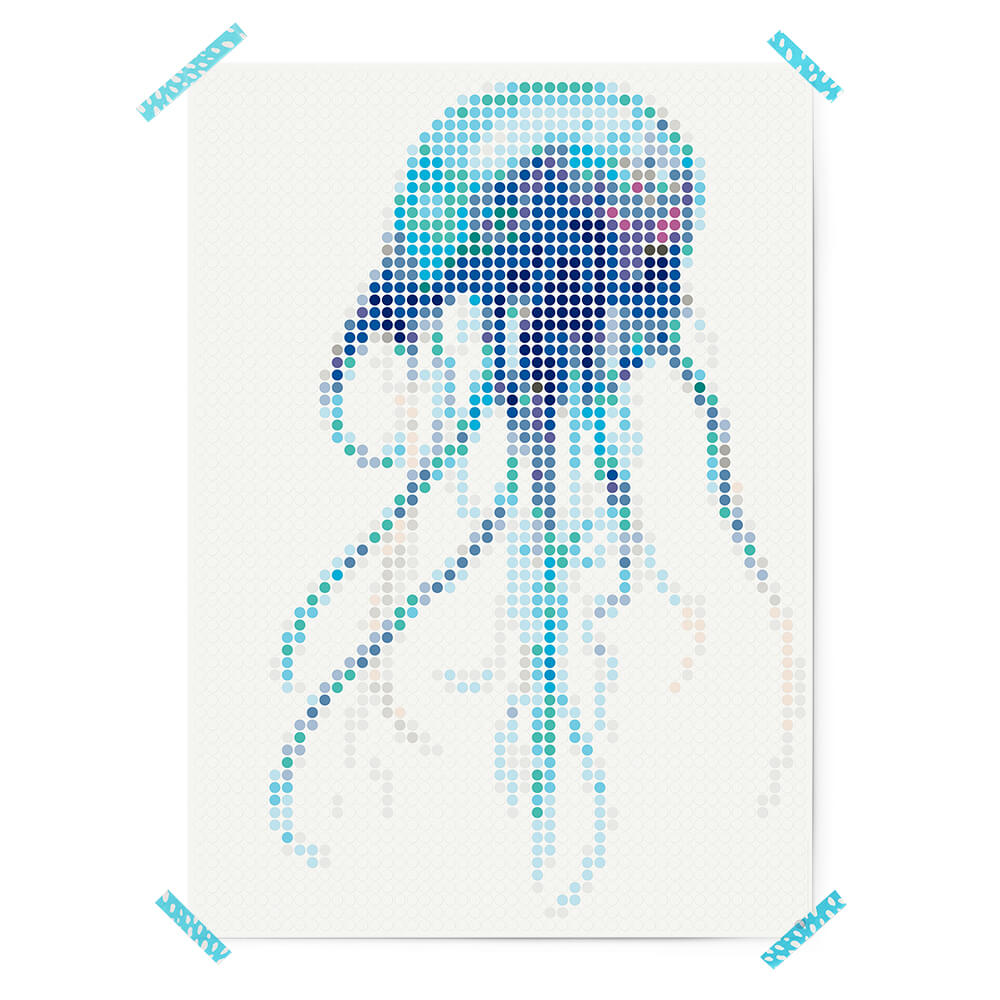 dot on art sea | jelly – Image 3