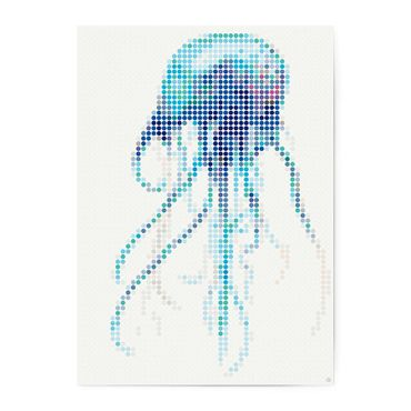 dot on art sea | jelly – Image 1