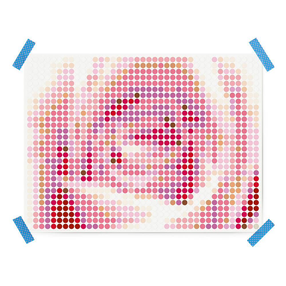 dot on art plants | rose – Bild 3