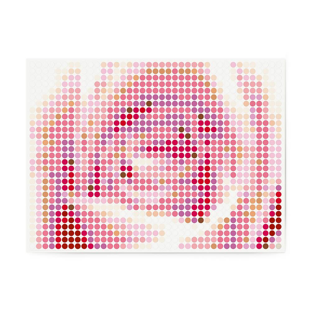 dot on art plants | rose – Bild 1