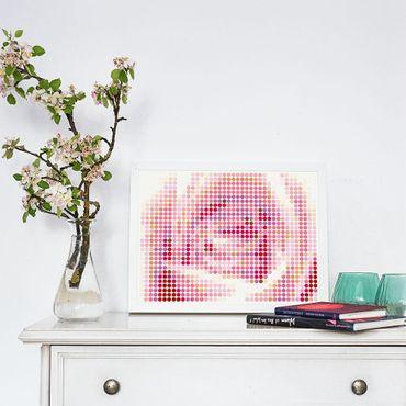 dot on art plants | rose – Image 2