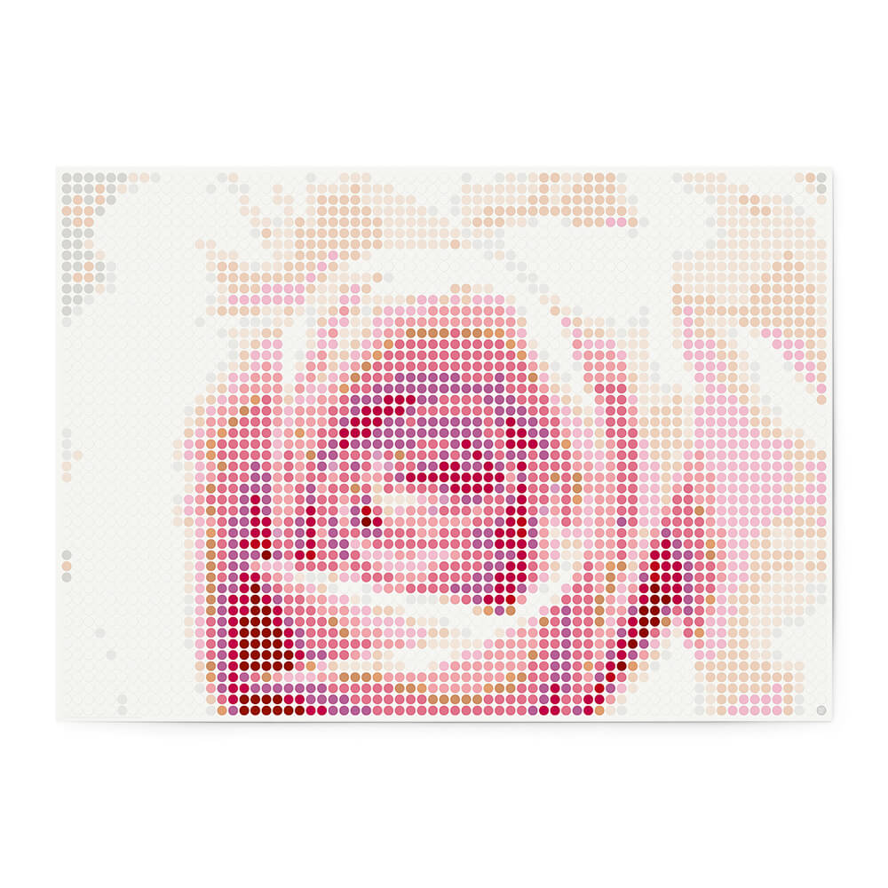 dot on art plants | rose – Image 1