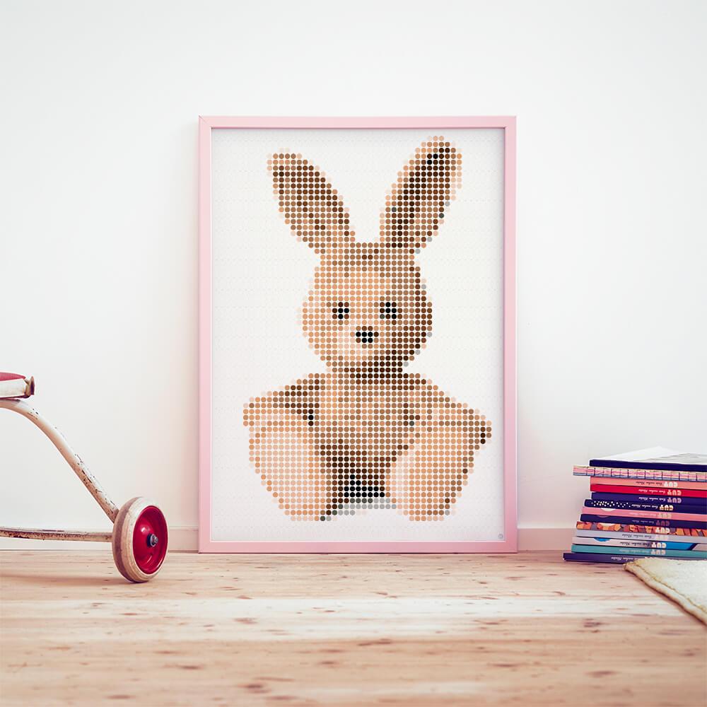 dot on art cuddle | bunny – Image 2