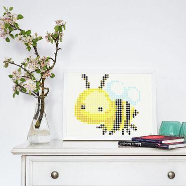 dot on art flowerpower | bee – Image 2