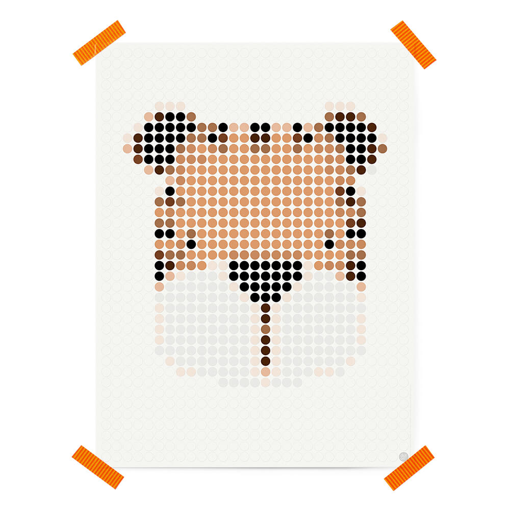dot on art cute | tigger – Image 3