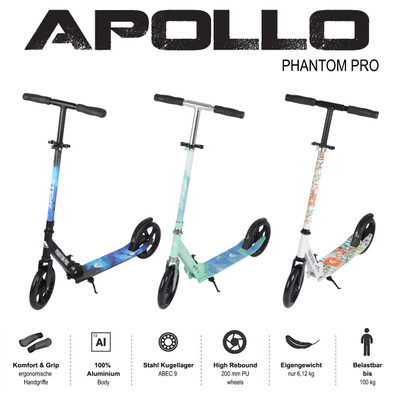 Apollo City Scooter - Phantom - Stars  – Bild 6