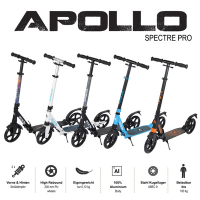 Apollo City Scooter - Spectre - Blue  – Bild 6