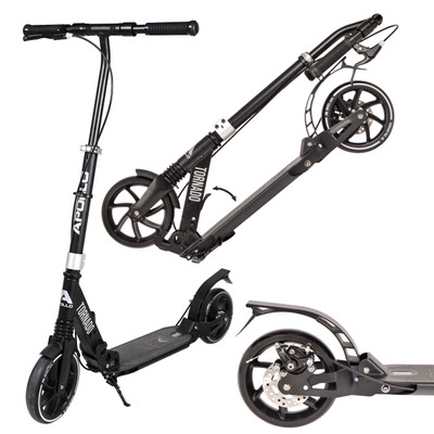 Apollo City Scooter - Tornado - Black/Silver  – Bild 1