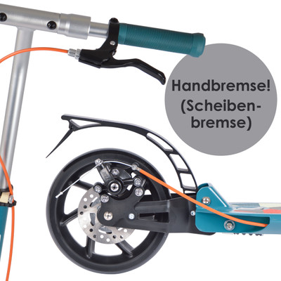 Apollo City Scooter - Tornado - Turquoise  – Bild 5