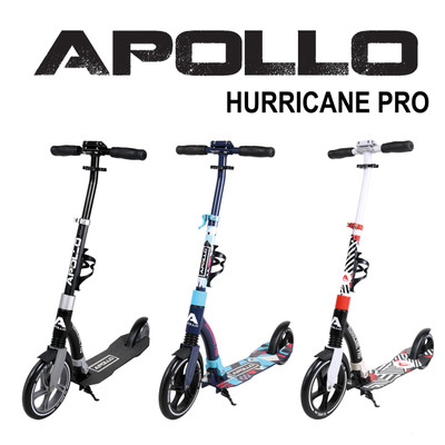 Apollo City Scooter - Hurricane - Blue  – Bild 6