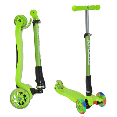 Apollo 3-Rad Kinderroller - Kids Whiz - Green  – Bild 1