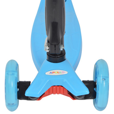 Apollo 3-Rad Kinderroller - Kids Whiz - Blue  – Bild 5