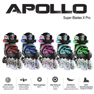 Apollo Inlineskate - Super Blade - Green - M  – Bild 6