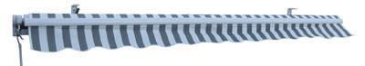 Aluminium Markise | 3 x 2,5 m-Grau  – Bild 3