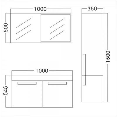 Badezimmer Set P998 – Bild 3
