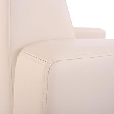 Modular Sofa-System Couch-Garnitur Lyon 6-1, Kunstleder ~ creme – Bild 8