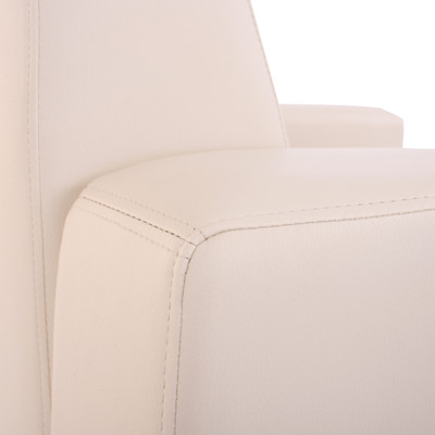 Modular Sessel Loungesessel Lyon, Kunstleder ~ creme – Bild 3