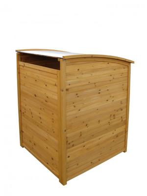 Mülltonnenbox mit Zinkdach 240l – Bild 2