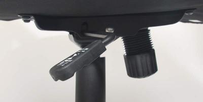 Bürostuhl Chefsessel Drehstuhl M61 Kunstleder, geeignet bis 2,00 m Körpergrösse ~ schwarz – Bild 8