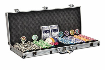 Pokerkoffer 500 Pokerchips OCEAN CHAMPION CHIP Pokerset – Bild 1