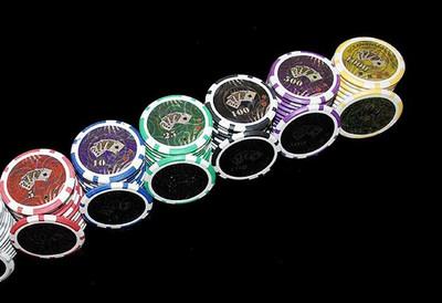 Pokerkoffer 500 Pokerchips WOODEN BLACK EDITION – Bild 6