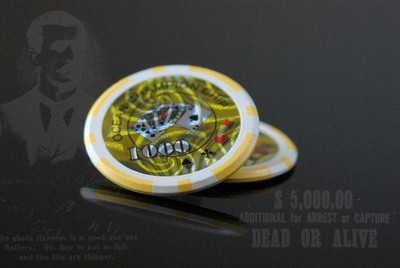 Pokerkoffer 500 Pokerchips BLACK EDITION Pokerset – Bild 9