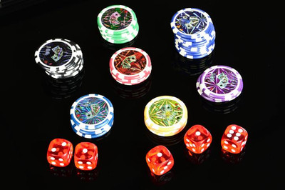 Pokerkoffer 600 Pokerchips  – Bild 4